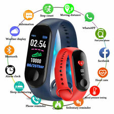 M3 Smart Band Watch Bracelet Wristband Fitness Tracker Pressure Heart Monitor