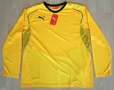 Puma camisa Power Cat Team Yellow camisa running fitness ocio XL 56 58 nuevo