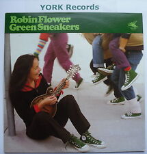 ROBIN FLOWER - Green Sneakers - Excellent Condition LP Record Flying Fish FF-273