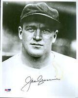 Joe Cronin Autograph 8x10 Signed Photo Psa/dna
