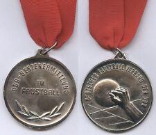 ORIG. MEDAGLIA d'argento in catena DDR-Meisterschaft 1979/PUGNO PALLA rarità!!!