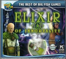 ELIXIR OF IMMORTALITY Hidden Object PC Game CD-ROM NEW