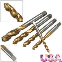 M3 M4 M5 M6 M8 High Speed Steel HSS Screw Thread Metric Spiral Plug tap Cutter