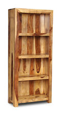 LIVING ROOM FURNITURE CUBA LIGHT FURNITURE SOLID BOOKCASE  (C8LW)