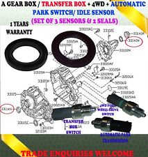 FITS NAVARA D40 PATHFINDER R51 TRANSFER BOX SENSOR SWITCH FRONT REAR SEALS