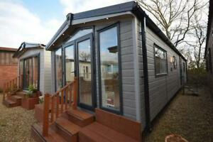 2022 Mobile Log Cabin   Sunrise Lodge DLX 3 bed Garden Home   No Planning
