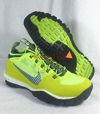 New Nike Lunarincognito ACG Sz 9.5 Mens 43 Lunarlon 631278-740 Volt Hiking Trail