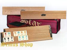 ORGINAL STAR PREMIUM Holz Rummikub / OKEY mit Melamin Steine AHSAP OKEY TAKIMI