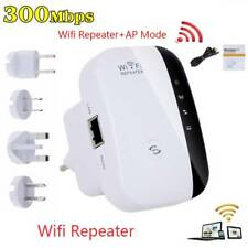 WIFI Repeater Wireless-N Signal Booster Extender AP Router 300Mbps US/EU/UK Plug