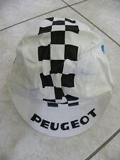 Vintage veritable casquette coureur Tour de France Peugeot années 60-70