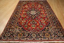 ESTATE 3x5 Circa 1950 Traditional Handmade Knotted Vegetable Dye Wool Rug 583272