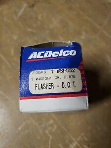 AC DELCO FLASHER GM# 491391 SF552 19JS0078-F32