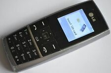LG KG130 - Black (Unlocked) Basic elderly senior big button Mobile Phone