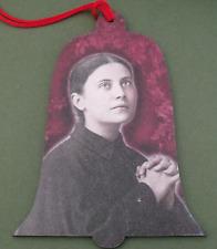 New St. Gemma Galgani Catholic Saint Religious Wood Christmas Ornament