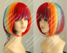 Harajuku Short Straight hair bob Fashion women wig Daily life wig