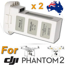 2 X For DJI Phantom 2 Vision+ Plus Drone Quadcopter 5600mAh 11.1V Battery Part