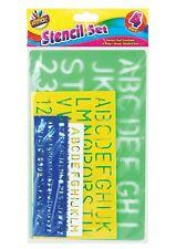 Letter Stencil Set A-Z 0-9 Alphabet Numbers Letters Craft Large Lettering