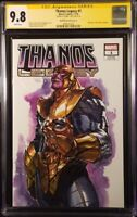 THANOS LEGACY #1 CGC SS 9.8 DELL'OTTO VARIANT DONNY CATES AVENGERS IRON MAN THOR