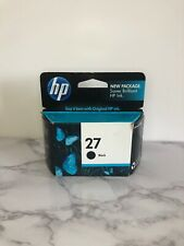 Genuine HP 27 Black Original Ink Cartridge (C8727AN) EXPIRED 01/12