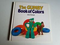 Gumby Book of Colors Jane Hyman Hardcover 1986 Children's' Book Vintage