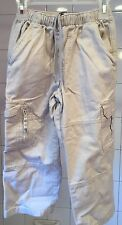 Euc Boys 5 Size Rugged Bear Cargo Pants Tan Beige