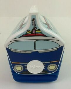 Igloo Special Edition VW Bus Blue Cooler 4qt (6 cans) Volkswagen Beach Surf
