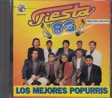 Fiesta 85 Los Mejores Popurris CD New Nuevo Sealed