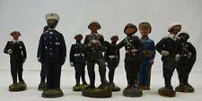 (4) DDR Massefiguren ~ Lineol / Elastolin  ~ Militär Spielzeug ~ 10 Soldaten