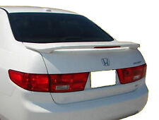 PAINTED REAR WING SPOILER FOR A HONDA ACCORD 4DR FACTORY  2003-2005