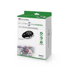 Interphone Tour Auriculares Bluetooth Único Urbano Motocicleta Radio Nav Teléfono
