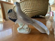 Rare Vintage Royal Copenhagen Pair Of Amherst Pheasants Birds #862 figurine Sig