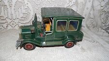 VINTAGE SH HORIKAWA JAPAN METAL TIN LITHO TOY OLD TIMER CAR BATTERY OPERATED