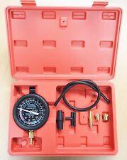 "Fuel Pump Pressure & Vacuum  Tester Gauge 4"" Up To 14PSI/28 HG"