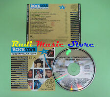 CD ROCKSTAR CBS 2 compilation PROMO 1990 RAY VAUGHAN TOTO JOURNEY CLASH (C19***)