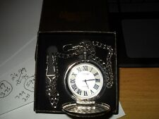 """Alias kim Pocket watch with Chain""""The Greatest Dad"""" brand new boxed without tags"""