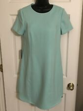 NWT- Vince Camuto from Nordstrom- Mint Shift Mini Dress w/ Cap Sleeves- Sz 10