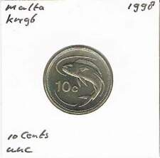 Malta 10 cents 1998 UNC - KM96 (me021)
