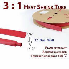 Safe & Eco-Friendly 3:1 Heat Shrink Tubing Tube Insulation Marine Tuner 18ft