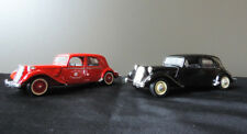 Lot de 2 voitures Citroën Traction Avant Solido 1/43
