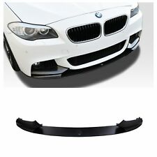 BMW M PERFORMANCE STYLE FRONT LIP SPOILER FOR BMW F10 MTECH M-SPORT BUMPER 2011+