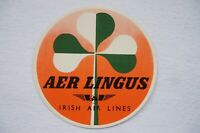 Aer Lingus Irish Airlines Airline Luggage Label Ireland