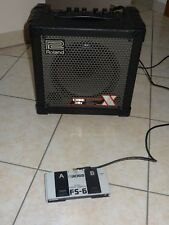 Amplificatore Roland 30w con dual footswitch+cavo