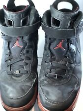 Nike Air Jordan Fusion 6 black/varsity red AJF 6 Infrared 343064-062 Size 12
