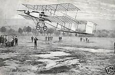 8807/ Foto Ak, Henri Farmant, battant le record de l' aeroplane
