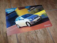 Prospectus /  Brochure TOYOTA Yaris TS 2002? //