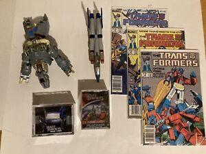 Vintage TRANSFORMERS G1 Beastwars 7 piece Mixed Lot Hasbro Marvel Card sets