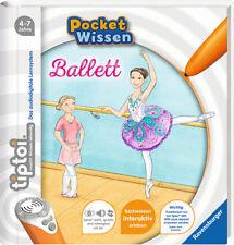 tiptoi Ballett Pocket Wissen 4-7 Jahre 16 Seiten Ravensburger + BONUS
