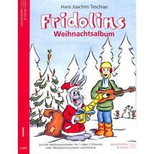 Fridolins Weihnachtsalbum - Noten für 1-2 Gitarren 2400 - 9783938202562