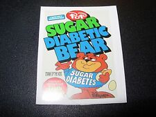 "RON ENGLISH POPAGANDA Cereal Sugar Bear 2.5"" Sticker decal frm poster art print"