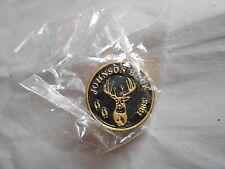 Vintage Johnson Buck Trophy Deer Hunting Pin